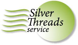 Silver Threads logo