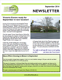 Silver Threads September 2014 Newsletter