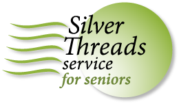 Silver Threads Service for Seniors logo