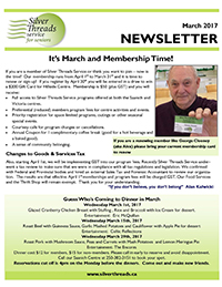 Silver Threads March 2017 Newsletter