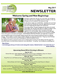 Silver Threads May 2017 Newsletter