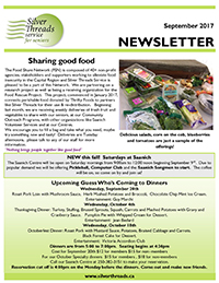 Silver Threads September 2017 Newsletter
