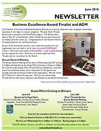 Silver Threads June 2018 Newsletter