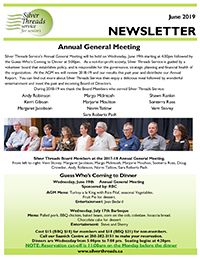 Silver Threads June 2019 Newsletter