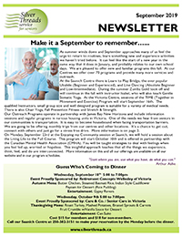 Silver Threads September 2019 Newsletter