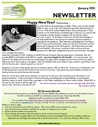 Silver Threads January 2021 Newsletter