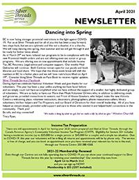 Silver Threads April 2021 Newsletter