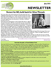Silver Threads July 2021 Newsletter