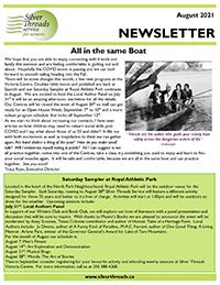 Silver Threads August 2021 Newsletter